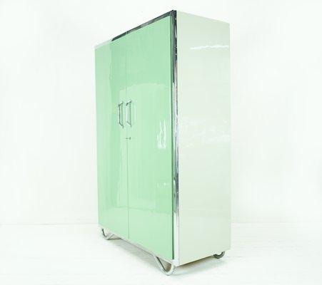 Armario Bauhaus En Verde Claro De Robert Slezak Anos 30