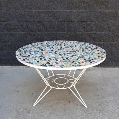 Mosaik Tisch Mit Fliesen Bei Pamono Kaufen