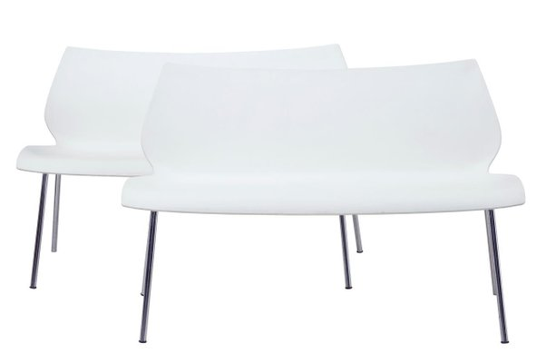 Terrific Maui Sofa Benches By Vico Magistretti For Kartell Set Of 2 Pabps2019 Chair Design Images Pabps2019Com