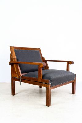 Enjoyable Art Deco Adjustable Lounge Chair 1920S Ocoug Best Dining Table And Chair Ideas Images Ocougorg