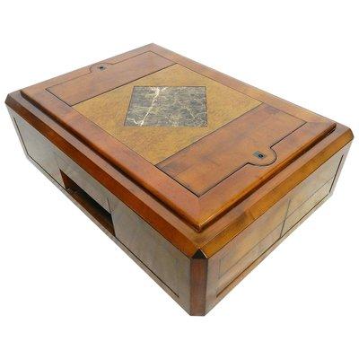 Compartiments SecretsFrance Basse Avec Vintage Table MzUGpqSV