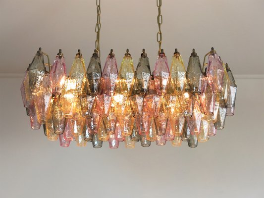 Multicolored Murano Gl Chandelier