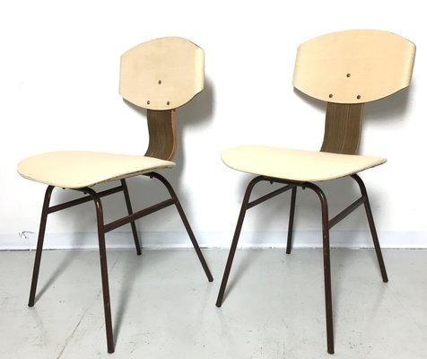 Vintage Dining Chairs 1950s Set Of 2 For Sale At Pamono