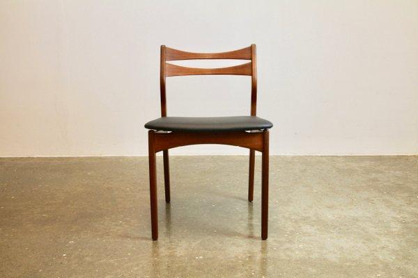 Vintage Danish Solid Teak Dining Chairs