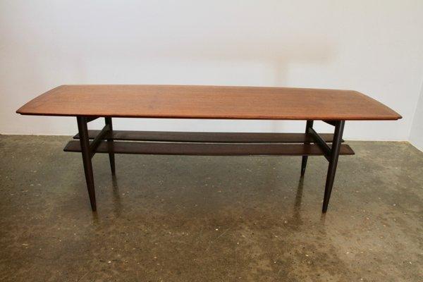 Vintage Danish Teak Coffee Table By H W Klein For Bramin 1960s