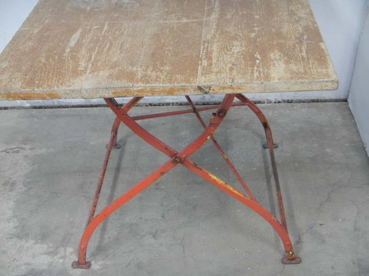 Prime Vintage Garden Table 1920S Gmtry Best Dining Table And Chair Ideas Images Gmtryco