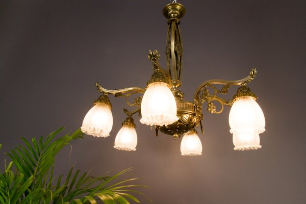 Art Deco French Chandelier 1930s For Sale At Pamono