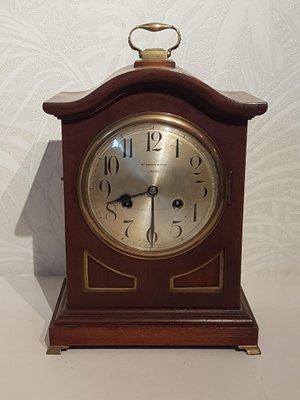 Antique Mantel Clocks >> Antique English Mantel Clock From W Greenwood Leeds For Sale At Pamono