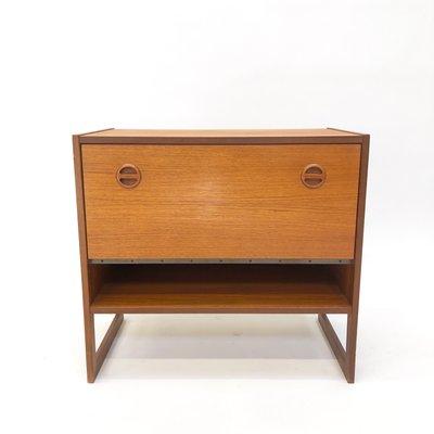 Skandinavischer Domino Gramophone Schrank Von Arne Wahl Iversen Für Ikea 1960er