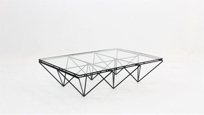 Italian Geometric Coffee Table 1970s For Sale At Pamono