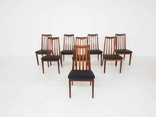 Fine British Dining Chairs By Leslie Dandy For G Plan 1960S Set Of 8 Dailytribune Chair Design For Home Dailytribuneorg