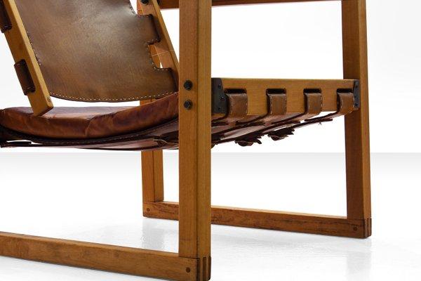 Tremendous Eucalyptus Wood Cognac Leather Safari Chair By Peder Hansen For Taraire Crafts 1967 Cjindustries Chair Design For Home Cjindustriesco