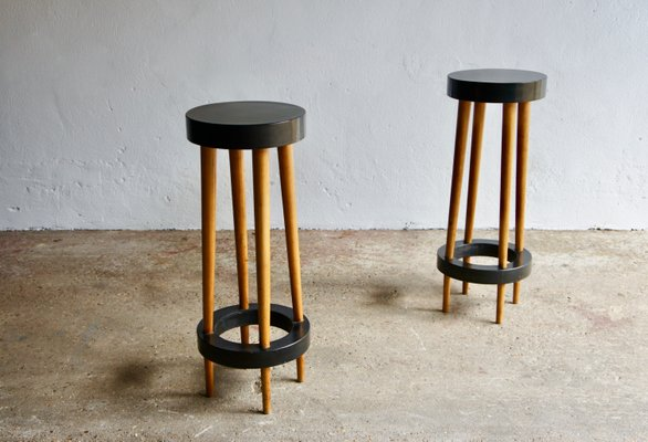 Prime Mid Century Bar Stools 1950S Set Of 2 Cjindustries Chair Design For Home Cjindustriesco