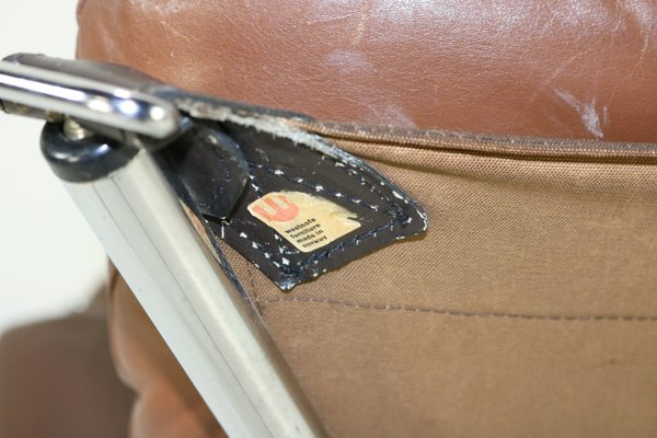 Awe Inspiring Brown Leather Sling Chair By Ingmar Relling Uwap Interior Chair Design Uwaporg