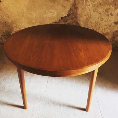 Flip Flap Lotus Teak Dining Table From Dyrlund 1970s For Sale At Pamono