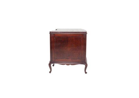 Queen Anne Desk >> Antique Queen Anne Style Desk