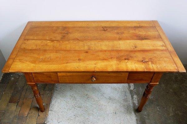 Antique Cherry Kitchen Table 1890s 3