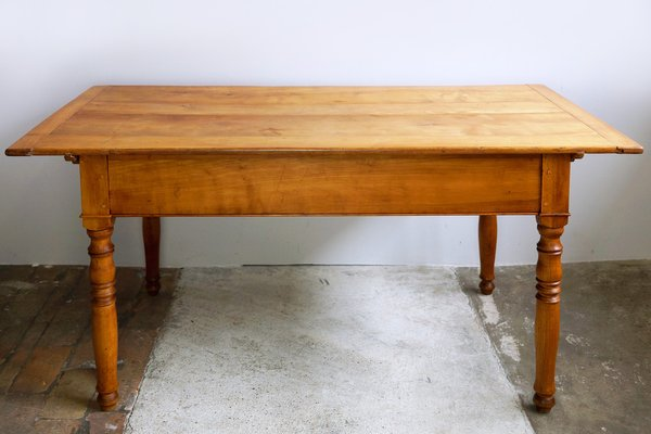 Antique Cherry Kitchen Table, 1890s
