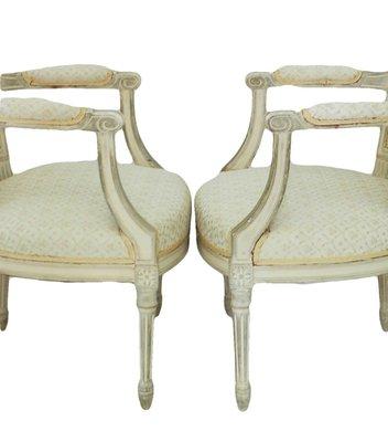 Poltrone in stile Luigi XVI di Maison Jansen, set di 2