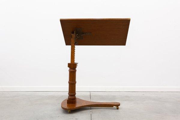 Table De Lecture Ajustable Et Pliante Victorienne Antique Sur