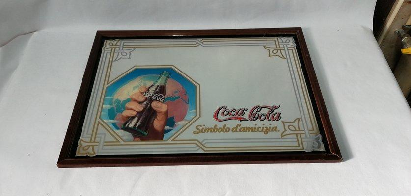 get cheap 4d10c 291a2 Specchio Coca Cola vintage