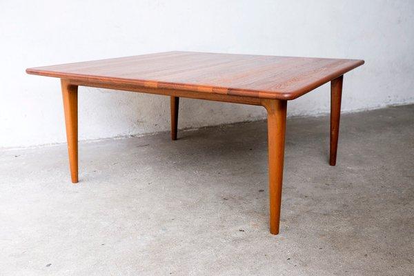 Massif Basse Carrée Teck en Mikael Laursen1960s Table de dCxeBo