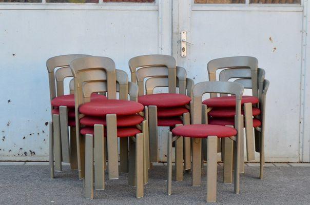 Vintage Stühle von Bruno Rey für Kusch & Co, 12er Set