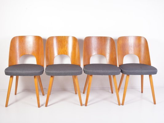 Chaises pour Manger N°515 Haerdtl Salle TON1960sSet par 4 de à de Oswald l5F1JuKc3T