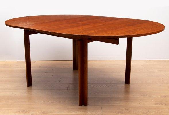 Mid Century Danish Teak Dining Table By Inger Klingenberg For France Søn