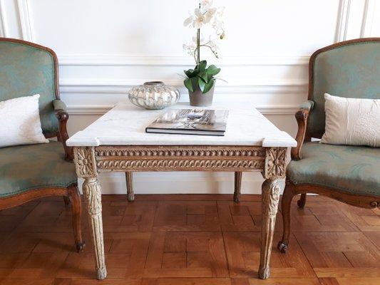Antique Louis Xvi Style Coffee Table