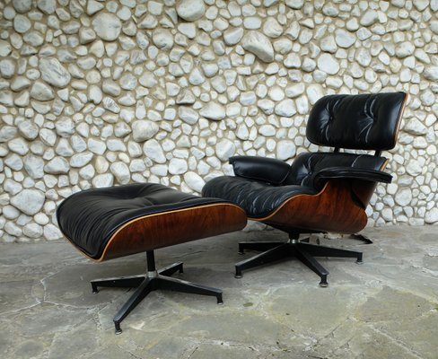 Astonishing Vintage 670 Lounge Chair 671 Ottoman By Charles Ray Eames For Herman Miller 1960S Uwap Interior Chair Design Uwaporg