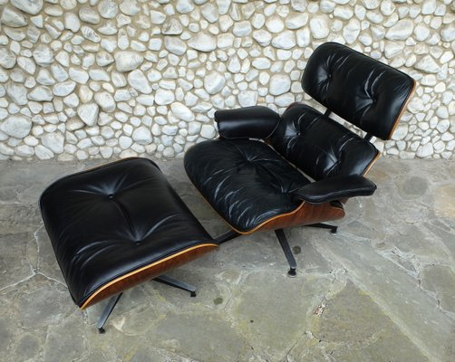 Astounding Vintage 670 Lounge Chair 671 Ottoman By Charles Ray Eames For Herman Miller 1960S Uwap Interior Chair Design Uwaporg