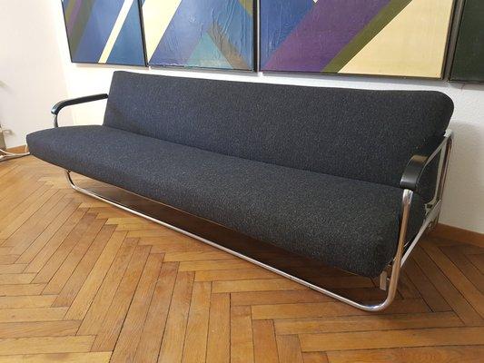Vintage Sofa Bed By Alvar Aalto For Embru 1940s
