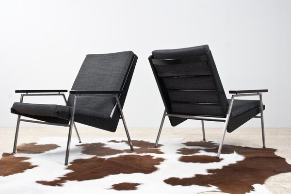 Surprising Mid Century Modern Lounge Chairs By Rob Parry For De Ster Gelderland 1960S Set Of 2 Machost Co Dining Chair Design Ideas Machostcouk