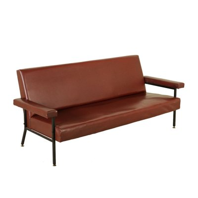 Amazing Vintage Italian Leatherette Sofa 1960S Caraccident5 Cool Chair Designs And Ideas Caraccident5Info