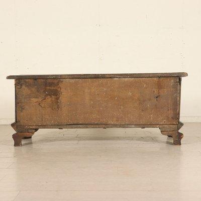 Fabulous Antique Italian Walnut Storage Bench 1600S Theyellowbook Wood Chair Design Ideas Theyellowbookinfo