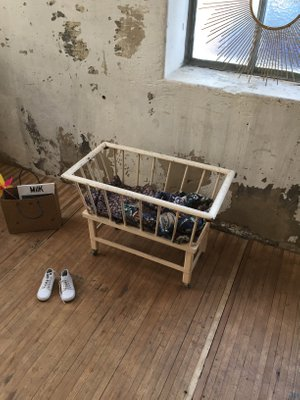 Vintage Toy Crib 1960s