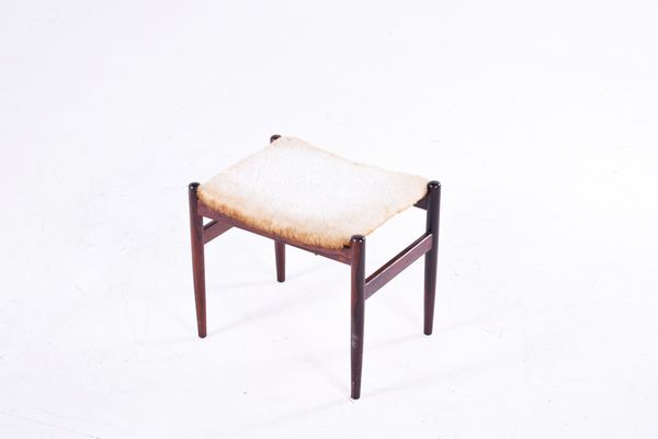 Admirable Vintage Rosewood Foot Stool From Spottrup Pdpeps Interior Chair Design Pdpepsorg