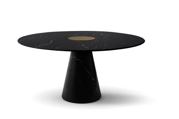 Outstanding Round Bertoia Dining Table From Covet Paris Uwap Interior Chair Design Uwaporg