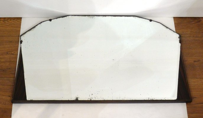 Art Deco Large Wall Mirror 1950s