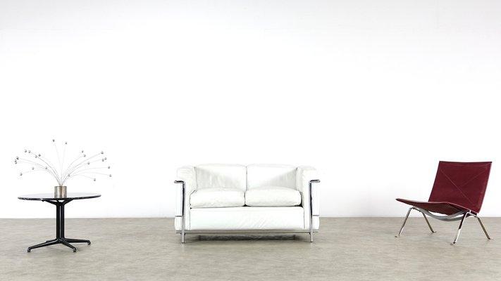 Vintage LC2 2-Sitzer Sofa von Le Corbusier, Piere Jeanneret ...
