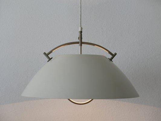 Tidssvarende Mid-Century JH 604 Pendant Lamp by Hans Wegner for Louis Poulsen HA-35