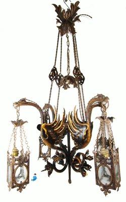 Antique Spanish Renaissance Lamp