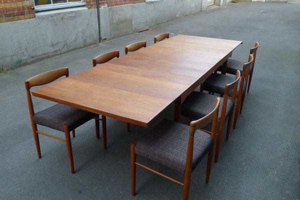 Model Fd 540 Teak Solid Wood Dining Table By Finn Juhl For France Søn 1960s For Sale At Pamono