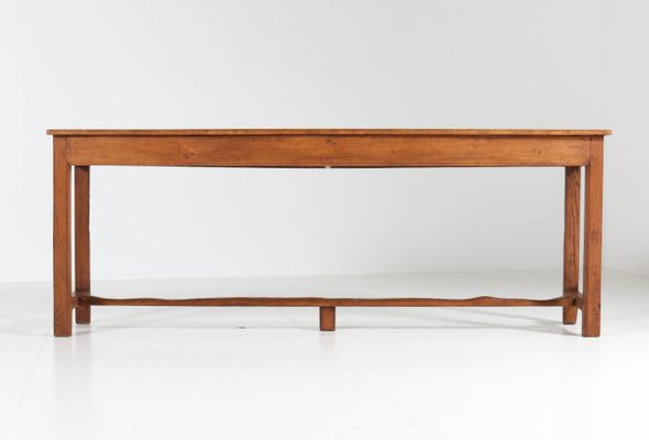 Superbe French Provincial Pine Side Table, 1890s