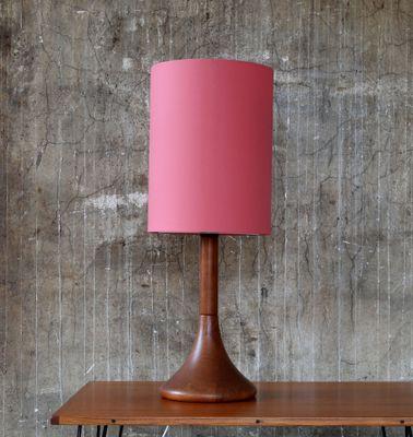 Vintage Danish Teak Table Lamp For Sale At Pamono