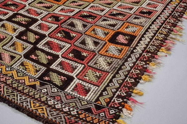 Vintage Anatolian Kilim Rug 1960s For