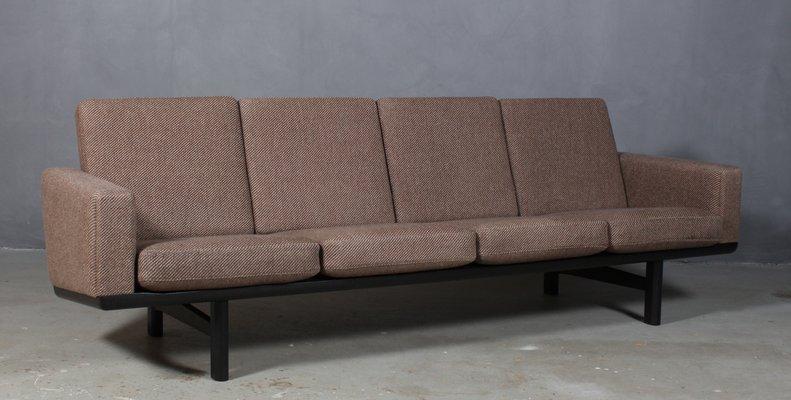Awe Inspiring Vintage Model 236 4 Oak Fabric 4 Seater Sofa By Hans J Wegner For Getama Inzonedesignstudio Interior Chair Design Inzonedesignstudiocom