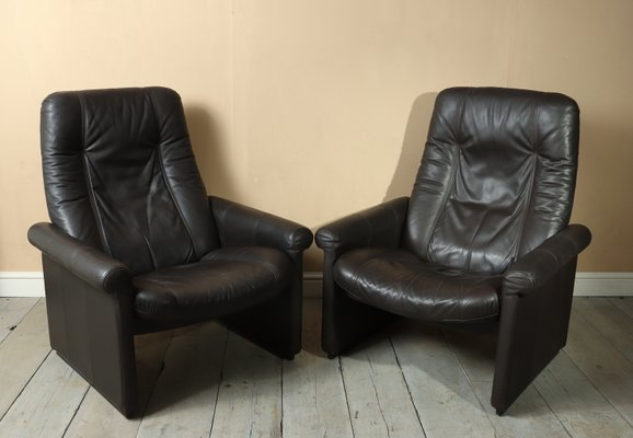 Strange Ds50 Reclining Armchairs From De Sede 1970S Set Of 2 Bralicious Painted Fabric Chair Ideas Braliciousco