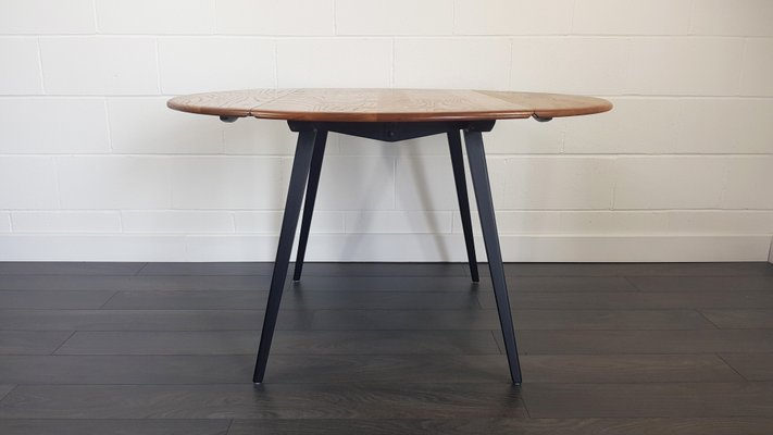 Excellent Round Drop Leaf Dining Table By Lucian Ercolani For Ercol 1960S Download Free Architecture Designs Salvmadebymaigaardcom
